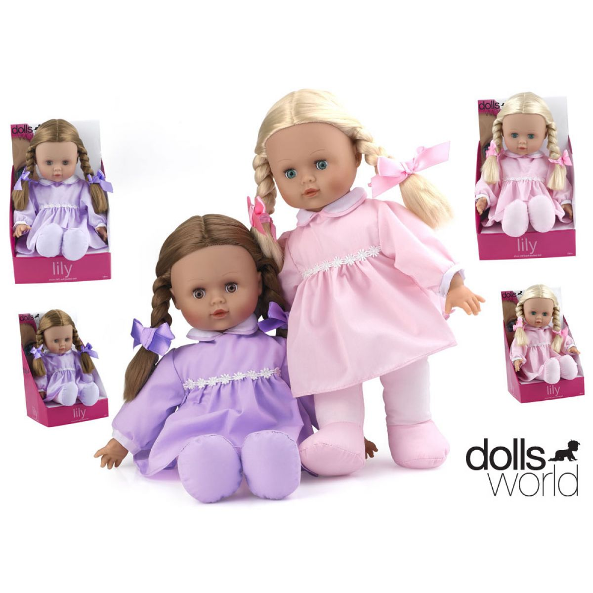 Dolls World Panenka Lily 41 cm