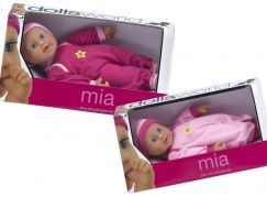 Dolls World Panenka Mia 25 cm