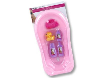 Dolls World Vanička - koupelová sada