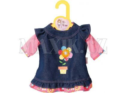Dolly Moda Džínové šatičky 38-46 cm