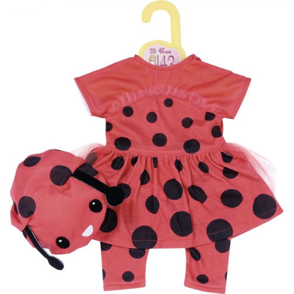 Zapf Creation Dolly Moda Oblečení Beruška, 43 cm