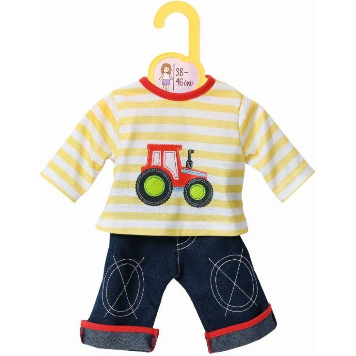 Zapf Creation Dolly Moda Tričko a kalhoty 38-46 cm