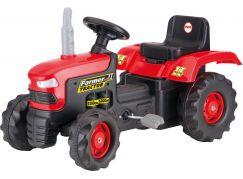 Dolu Velký šlapací traktor červený