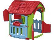 Domeček s dílnou Marianplast - Červená střecha