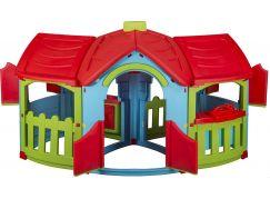 Domeček Velká vila 2 místnosti - Červená střecha - Poškozený obal