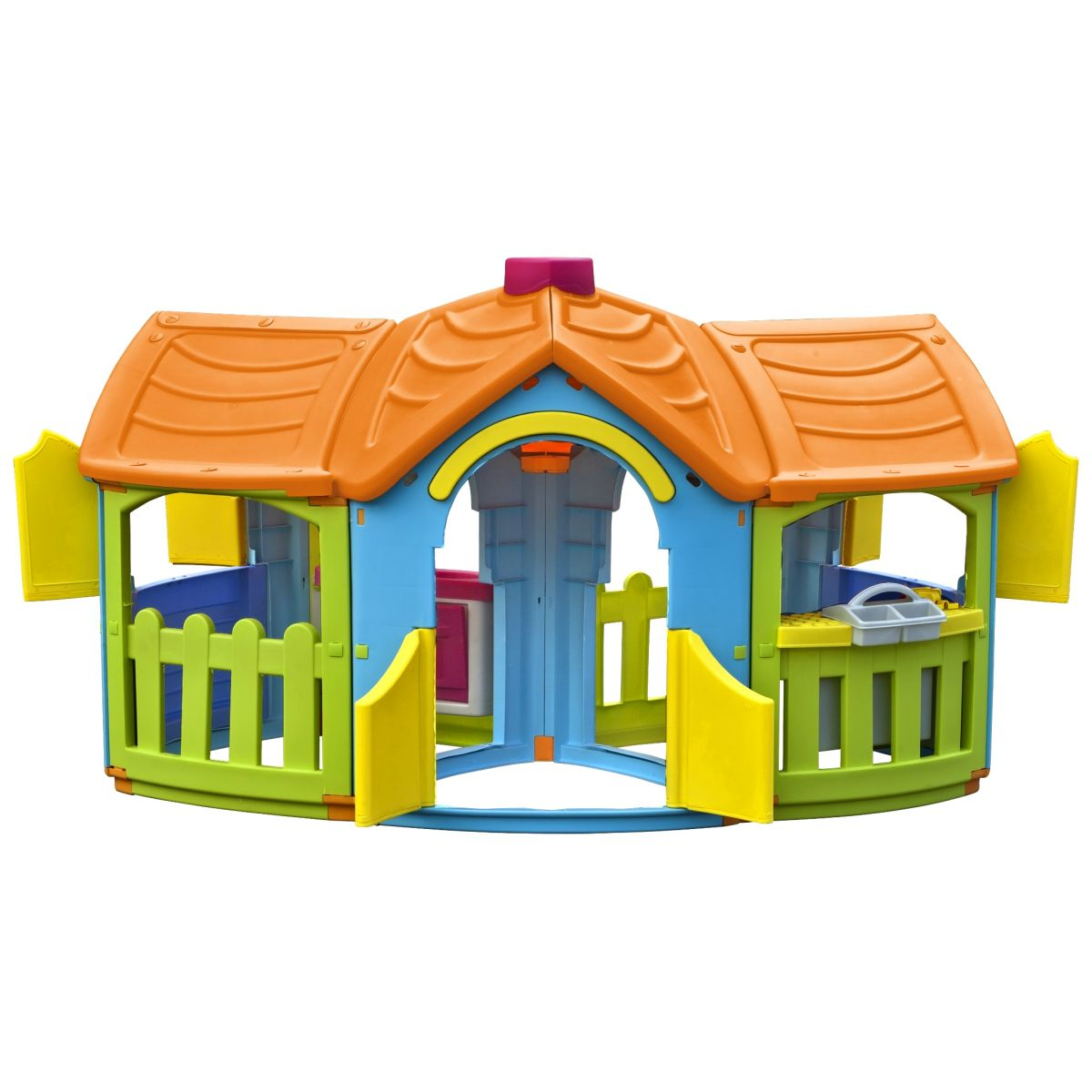 Domeček Velká vila 2 místnosti - Oranžová střecha