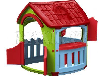 Domeček s kuchyňkou Marianplast - Červená střecha