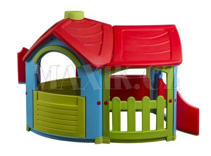 Domeček Vila s rozšířením - Červená střecha