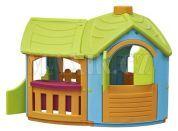 Domeček Vila s rozšířením - Zelená střecha