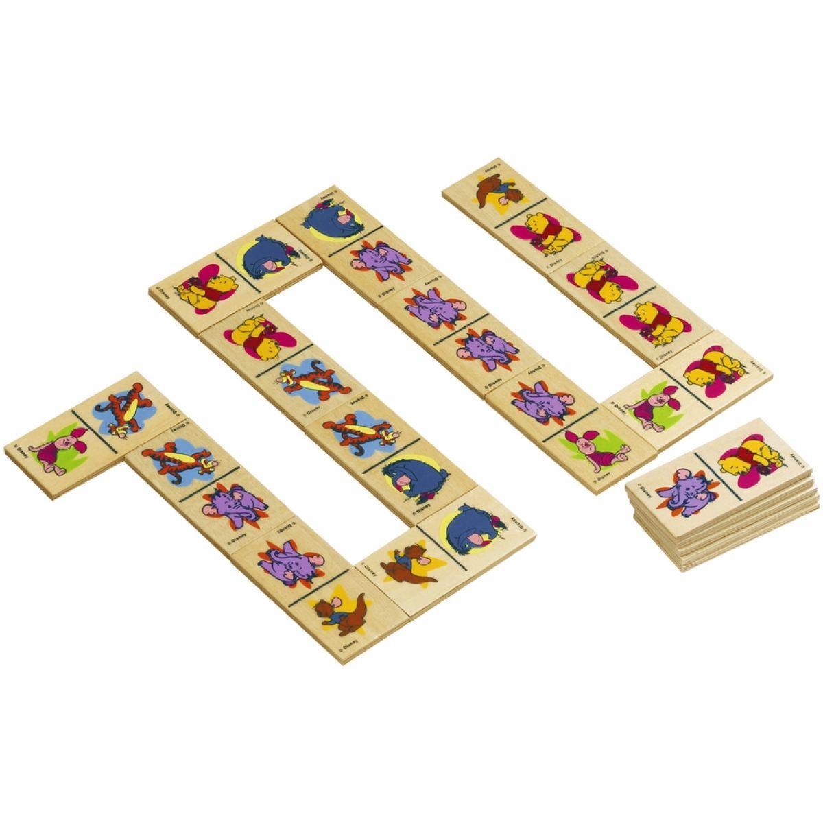 Domino dřevěné Pú