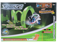 Dráha s otočkou Spin Go se 2 motorkami