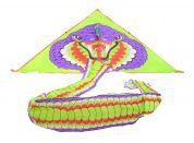 Drak létací nylonový s ocasem 4m