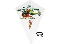 Drak létající s motivem vrtulník