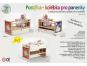 Dřevěné hračky Jaroš Dřevěná postýlka - kolébka pro panenky 4
