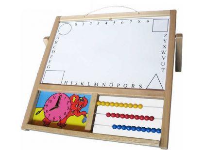 Dřevěné hračky Jaroš Tabule závěsná - stolní
