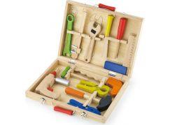Viga Dřevěné nářadí v kufříku 3888