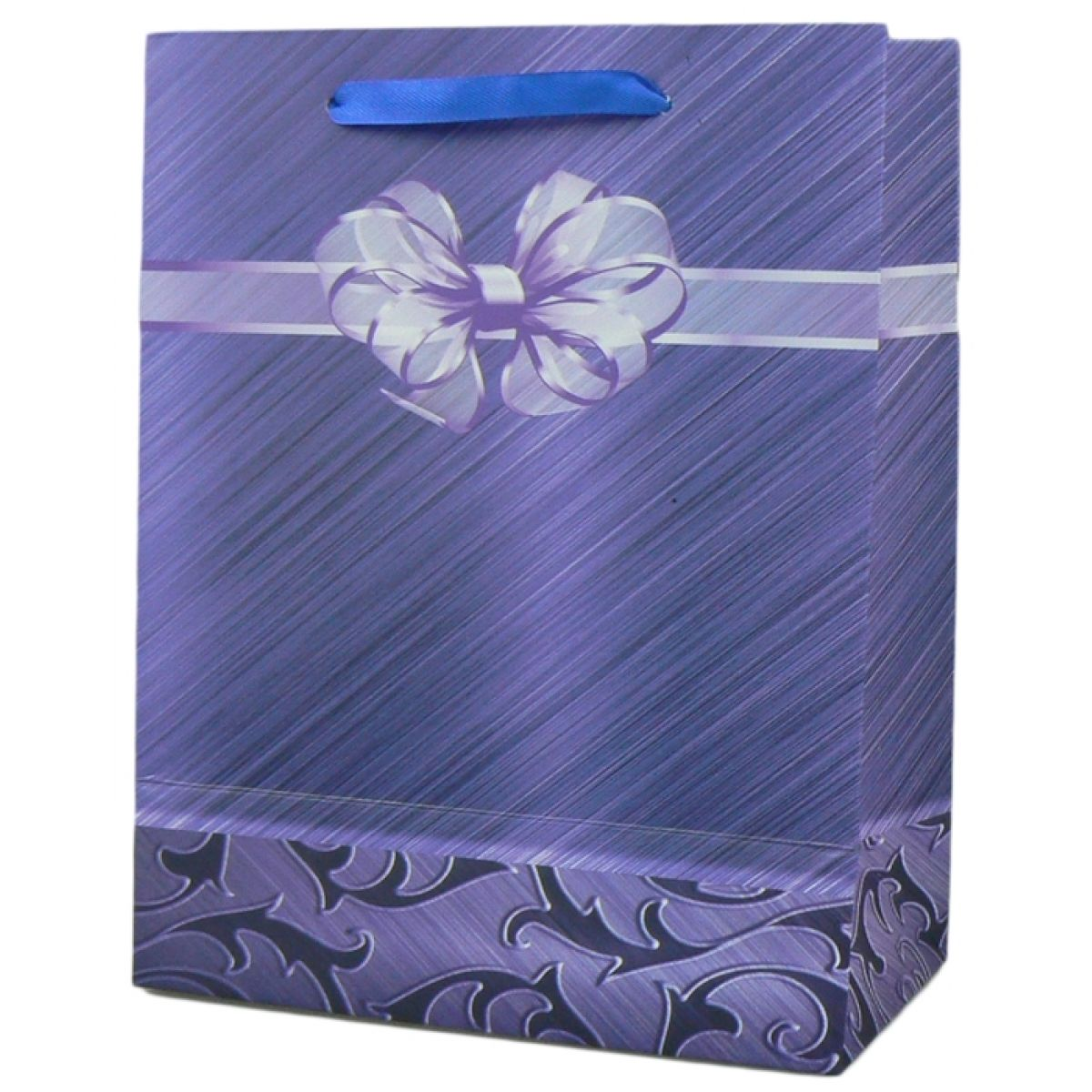 Dárková taška mašle malá - Fialová