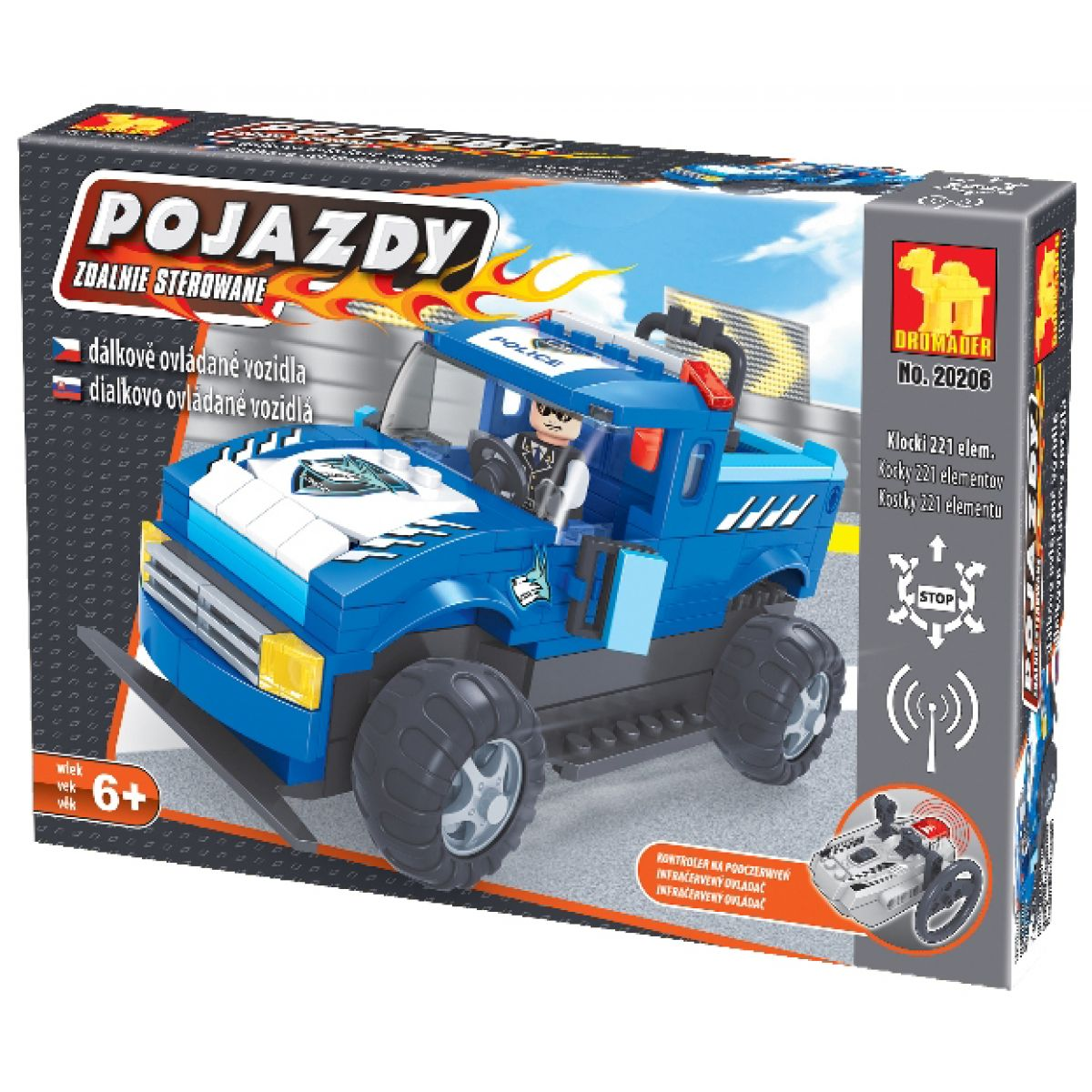 Dromader 20206 - RC Auto policie