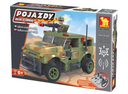 Dromader 20218 Vojáci RC Auto na vysílačku 284ks
