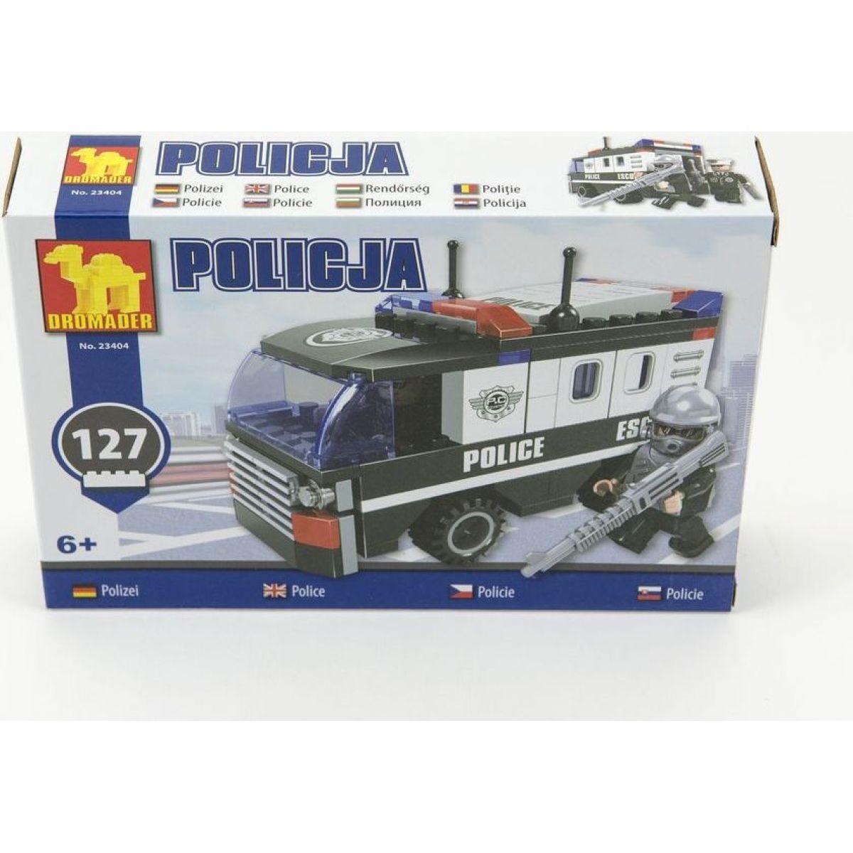 Dromader 23404 Policie Dodávka 127ks