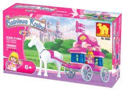 Dromader 24201 - Pro holky kočár s koněm