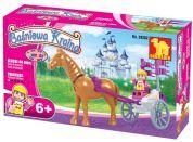 Dromader 24202 - Pro holky vozíček s koněm