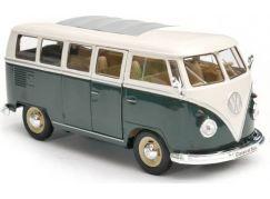 Welly Auto Volkswagen Classical bus 1:24 tmavě zelená