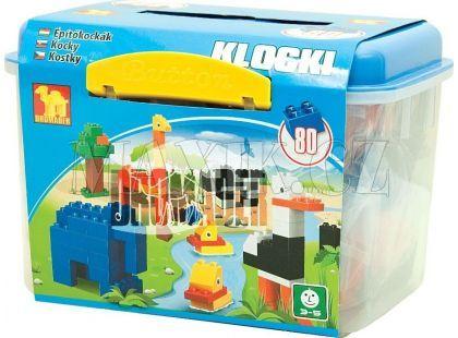 Dromader Maxi 00629 Kostky v boxu 80 dílů