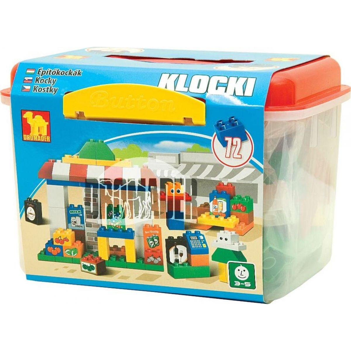 Dromader Maxi 00631 Kostky v boxu 72 dílů