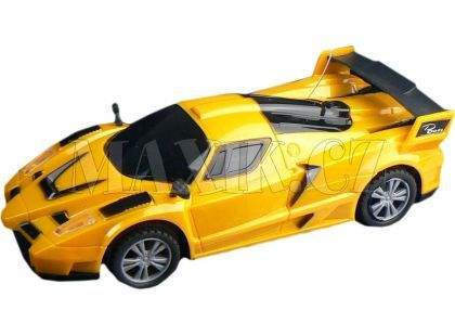 Dromader RC Auto Racing - Žlutá