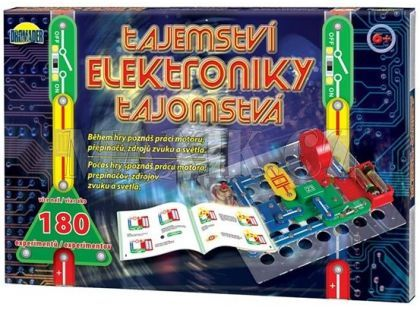Dromader Tajemství elektroniky 180 experimentů