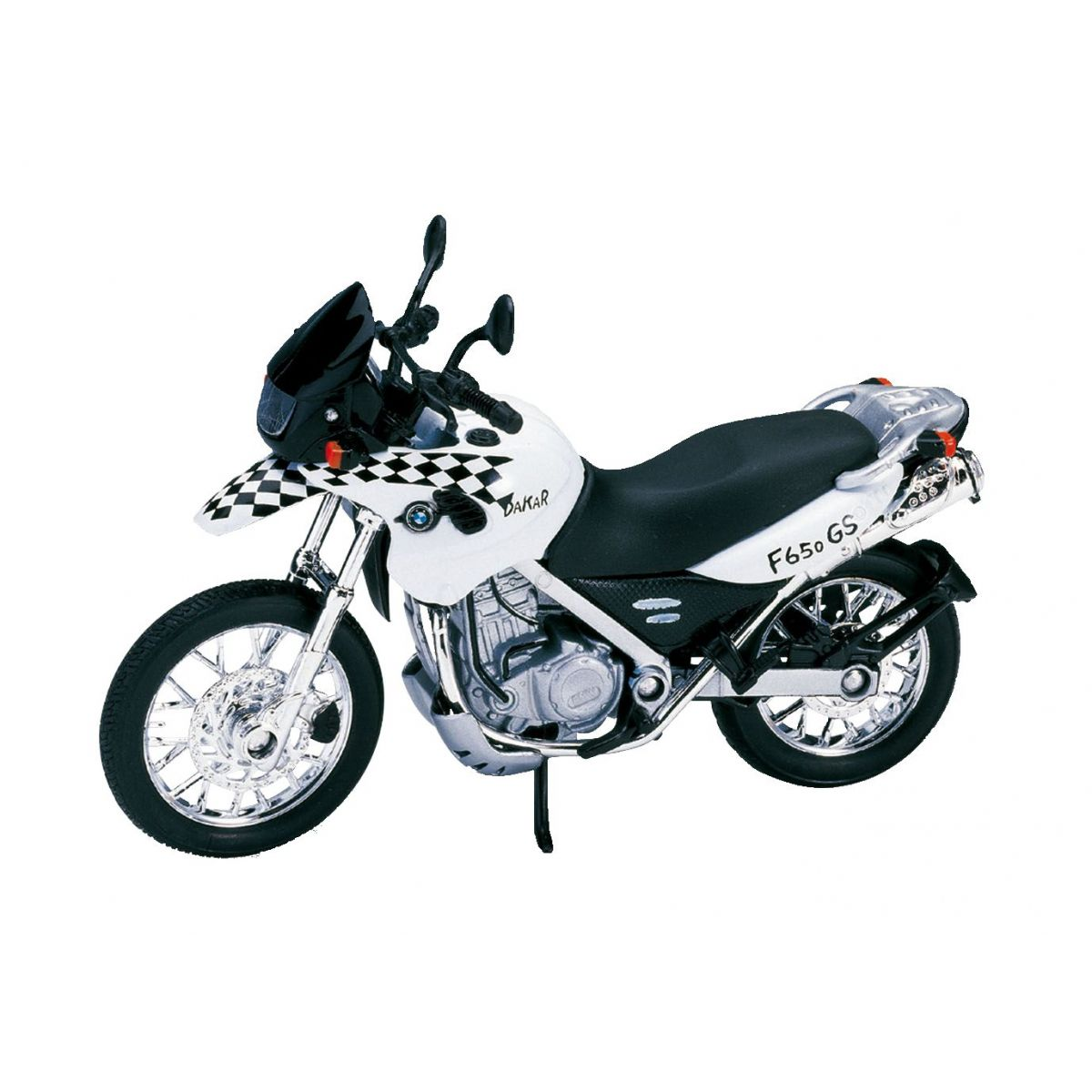 Dromader Welly Motorka 11cm - BMW F650 GS Dakar