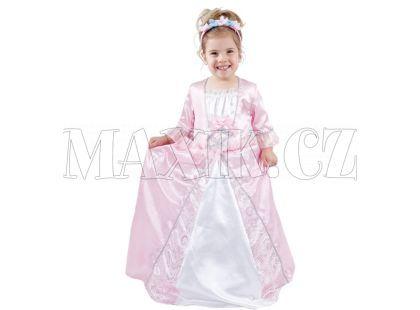Dětský kostým Princezna růžová 3-4 roky