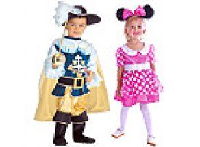 Dětské kostýmy pro karnevalovou sezónu