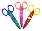 Dětské nůžky dekorativní 3 vzory