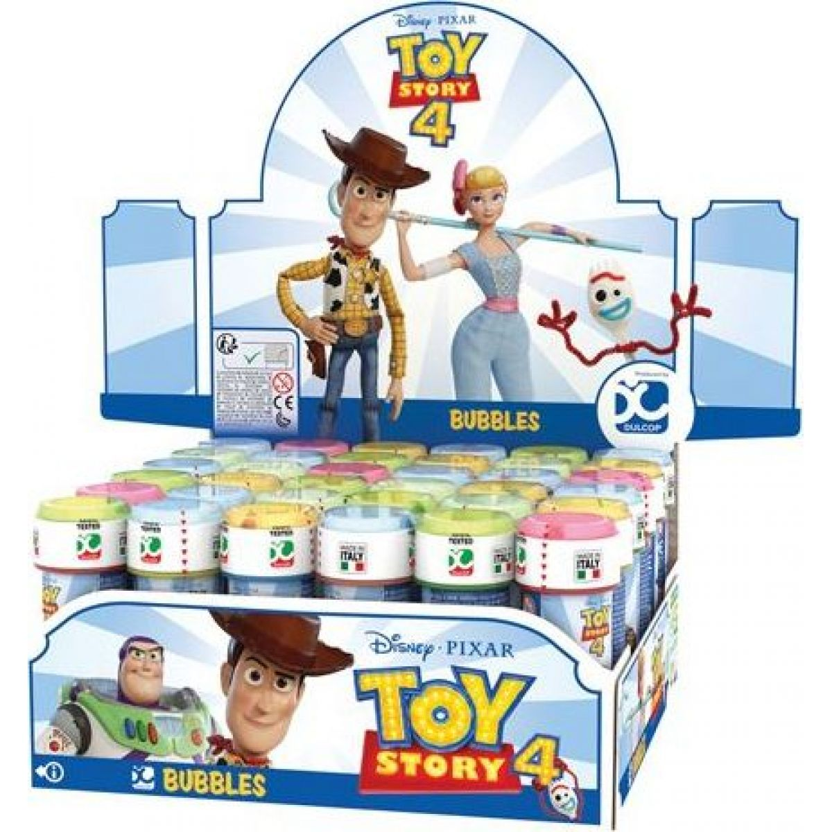 Dulcop Bublifuk Toy Story 60 ml