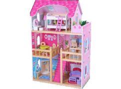 Dům pro panenky  s nábytkem 16 ks