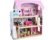 Dům pro panenky 16 ks nábytku