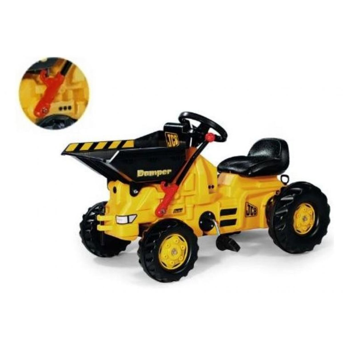 Dumper JCB vyklapěč-žlutý Rolly Toys
