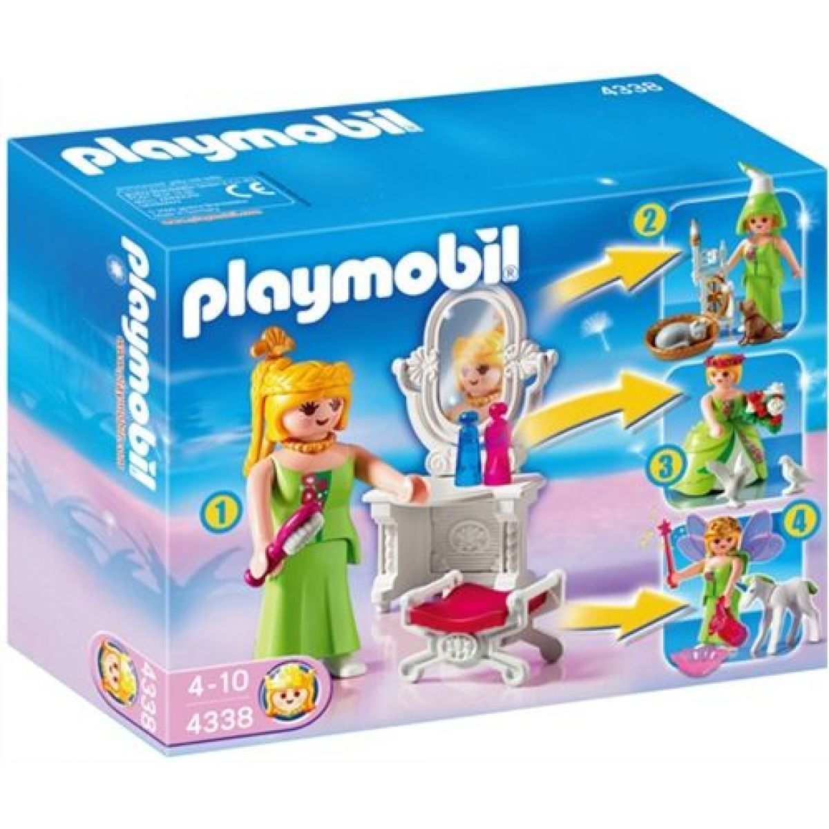 Dívčí Multi Set Playmobil 4338