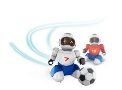 Dva Roboti s míčkem na dálkové ovládní a dvěma brankami - Poškozený obal