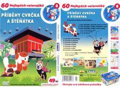 DVD - Příběhy cvrčka a štěňátka