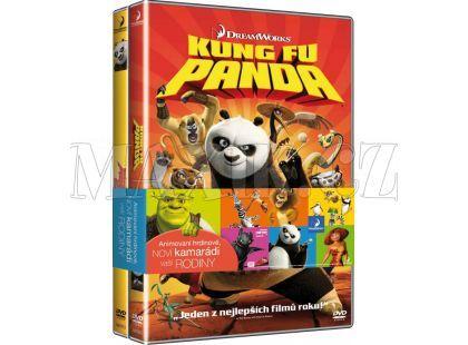 DVD 2DVD Kung Fu Panda 1-2