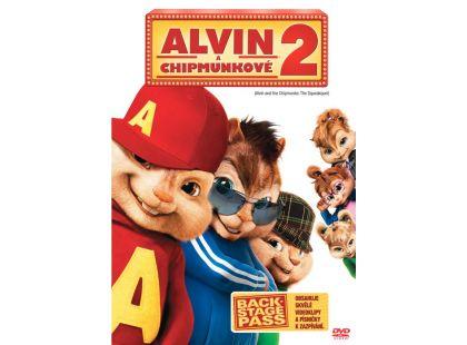DVD Alvin a Chipmunkové 2