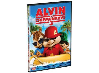DVD Alvin a Chipmunkové 3