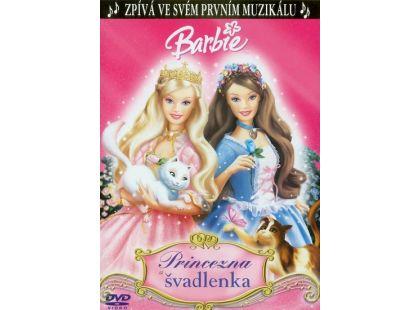 DVD Barbie princezna a švadlenka