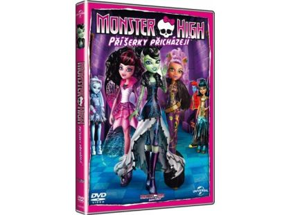 DVD Monster High Příšerky přicházejí
