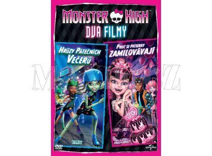 DVD Monster High: Proč se příšerky zamilovávají & Hrůzy páteční noci