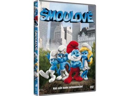 DVD Šmoulové film