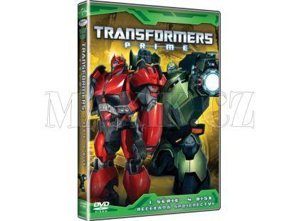 DVD Transformers Prime 1. série 4. disk